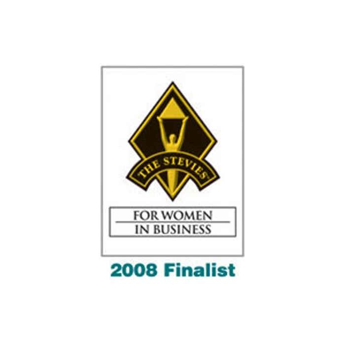 2008 Finalist The Stevies For Women in Business logo