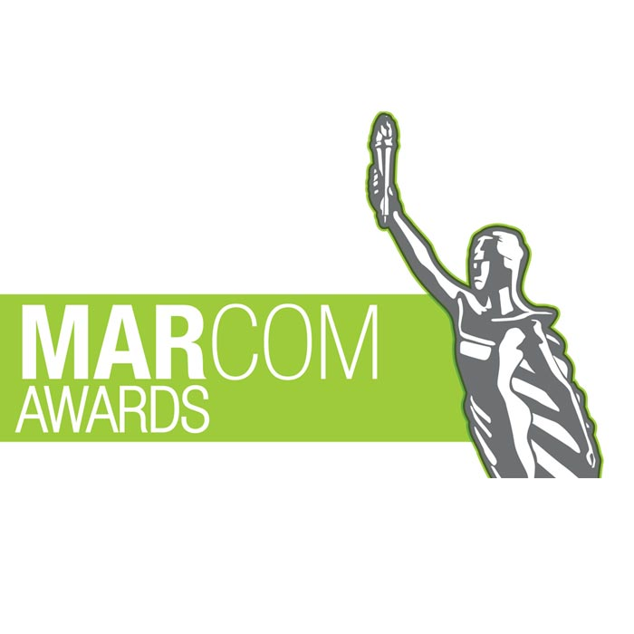 2008 Marcom Award logo