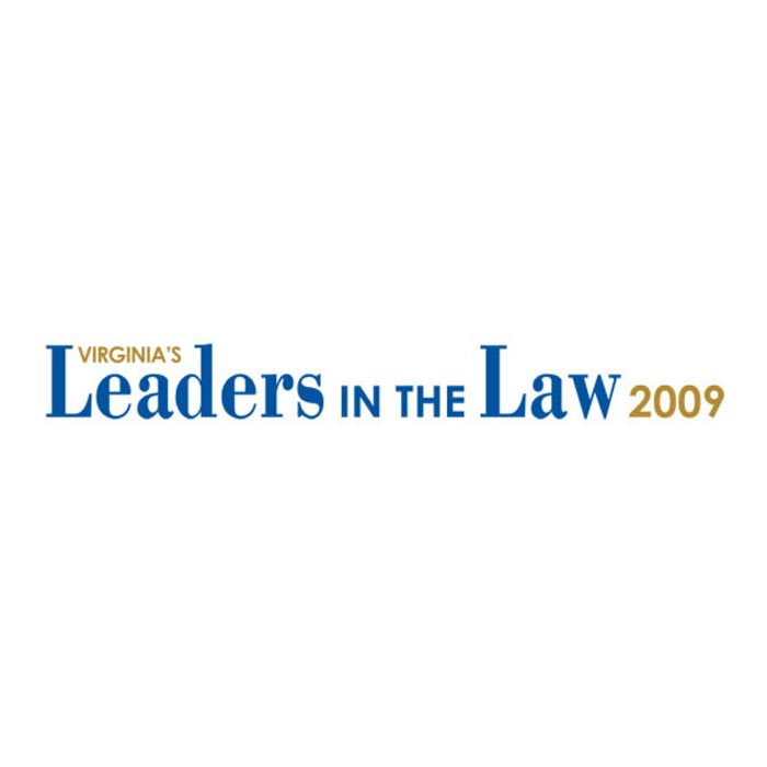 Virginia's Leaders in the Law 2009 logo