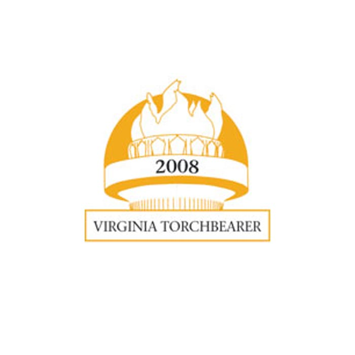 2008 Virginia Torchbearer logo